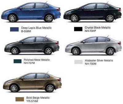 Honda City Color Options My Best Car Dealer