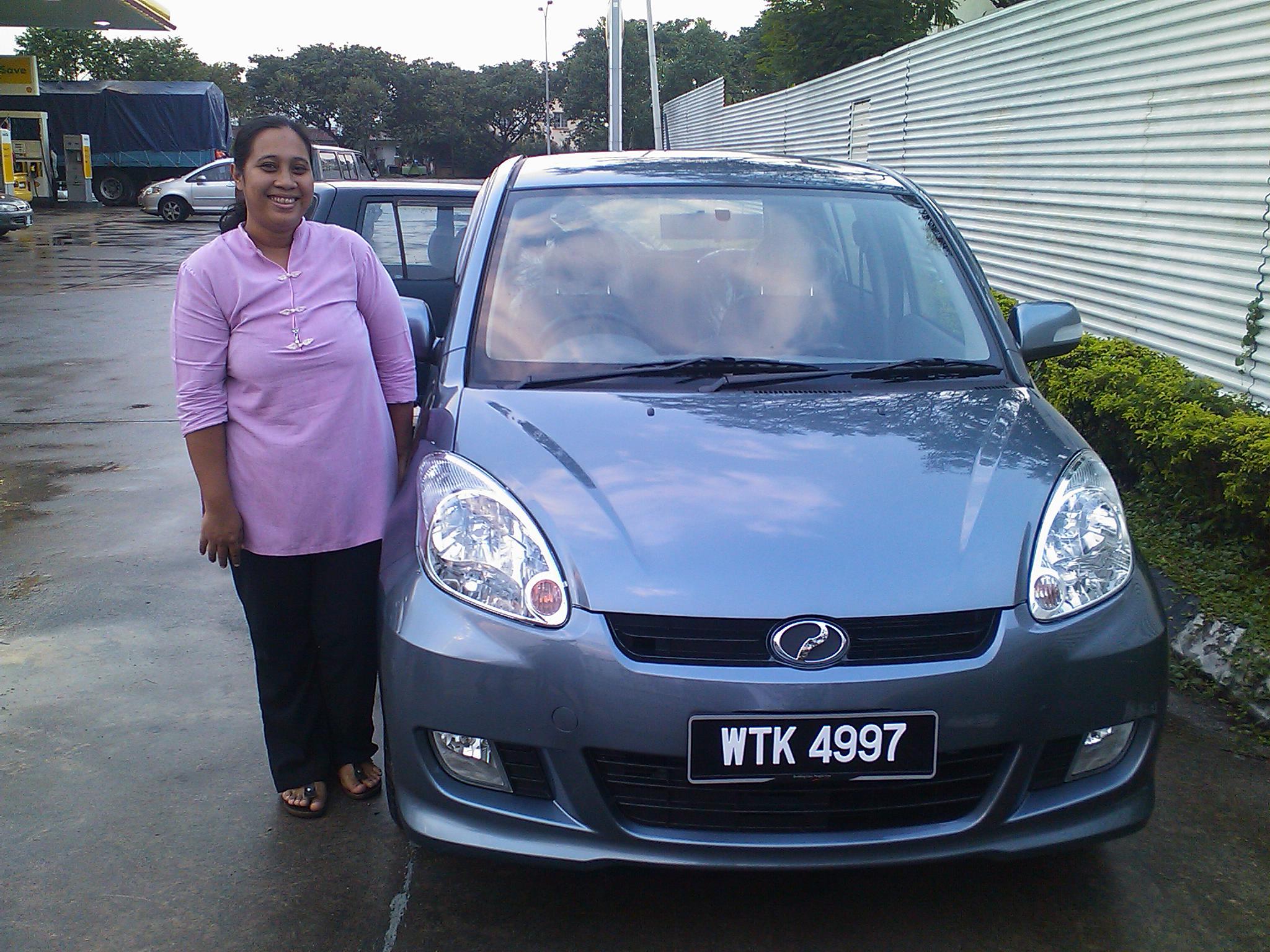 Perodua Myvi Terbaru. Perodua Myvi Grey Color 2010