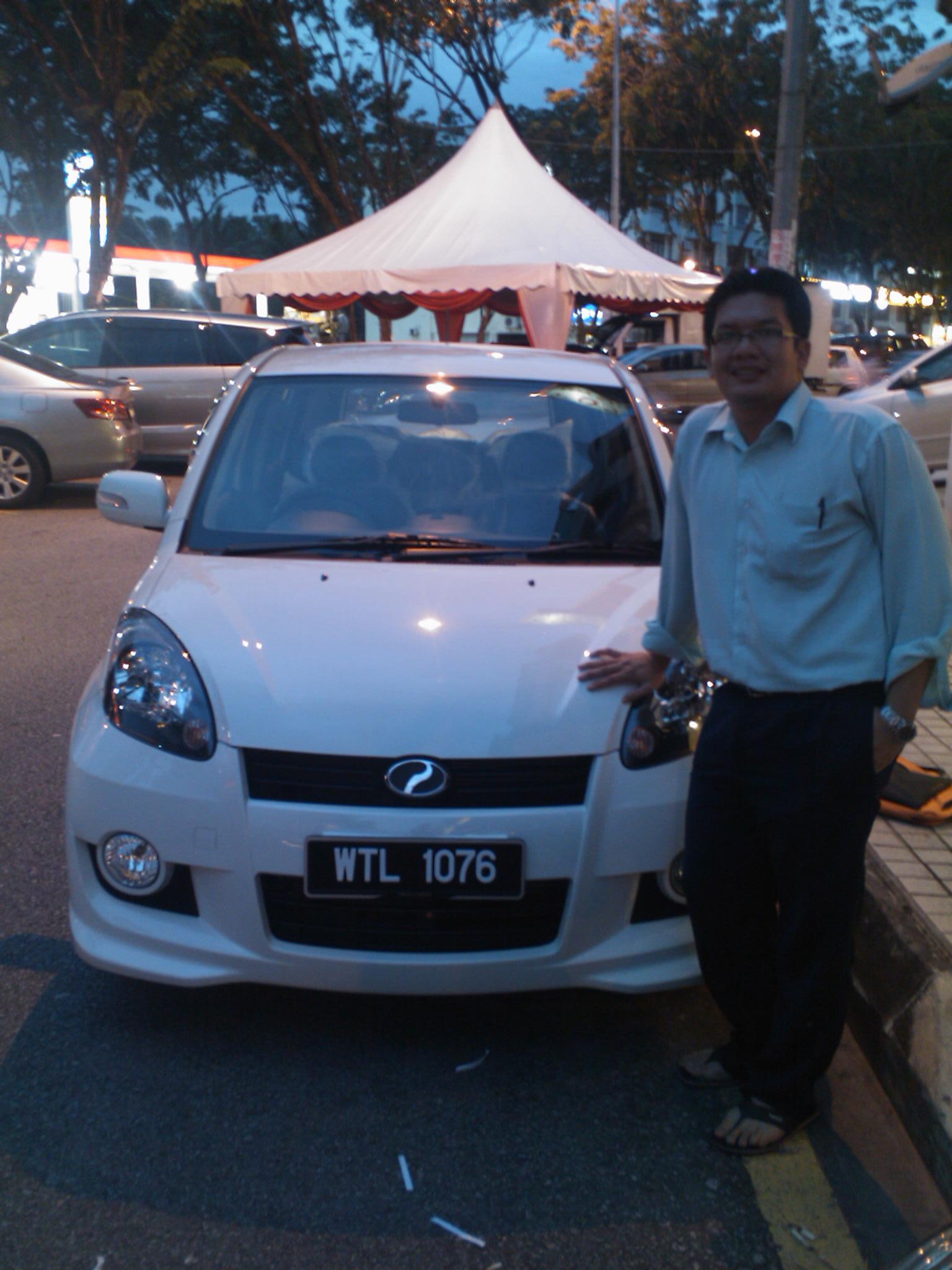 Perodua Myvi Se. Perodua Myvi SE 2010