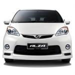 Perodua Alza Front View