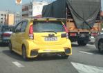 Perodua Myvi Elegance Rear
