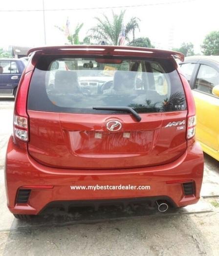 Perodua Myvi 1.3 SE 2013