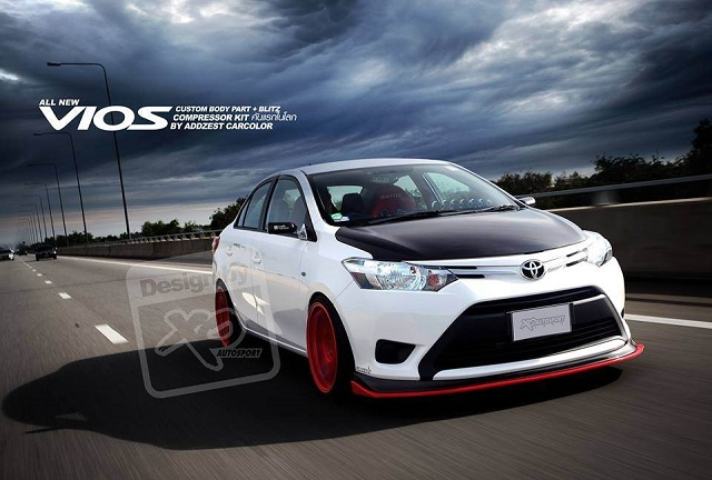 Sample photo of the new modified Vios 2013 – taken from Addzest