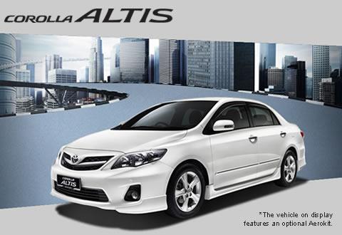 Toyota Altis 2013 malaysia