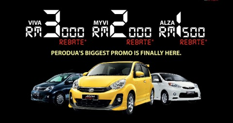 Perodua Promotion December 2013