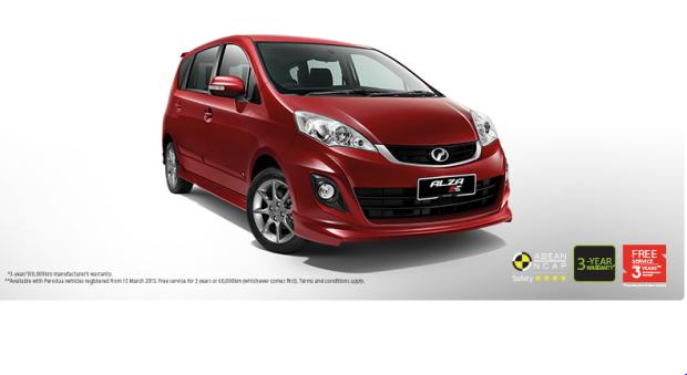 Perodua Alza 2014